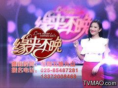 江苏电视台三套综艺频道缘来不晚